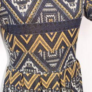 LuLaRoe Dresses - LuLaRoe Amelia Geometric Print Dress | Size Small
